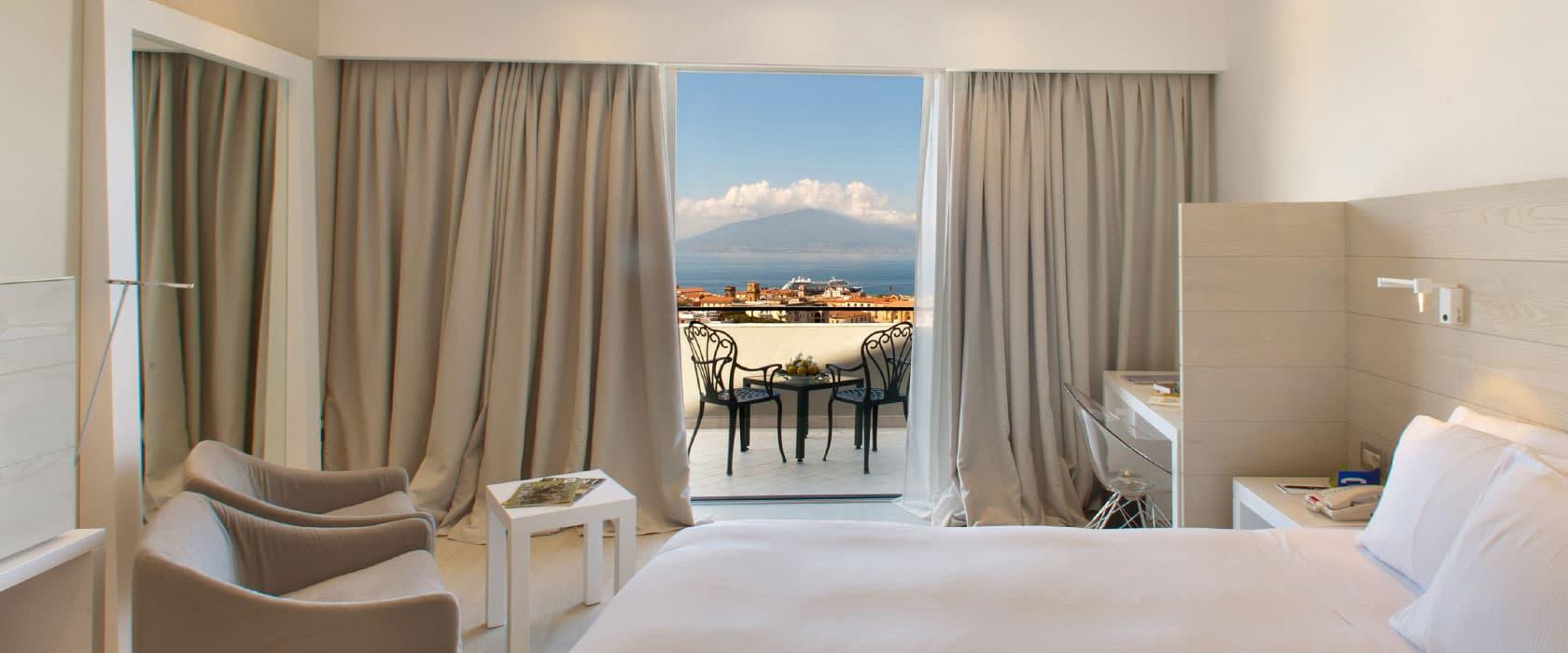 Executive room with sea views